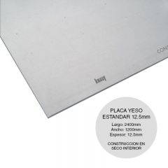 PLACA STD 12.5X2400X1200MM