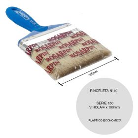 PINCELETA N40 ECNOMICO PLASTICO P/LATEX S150V4
