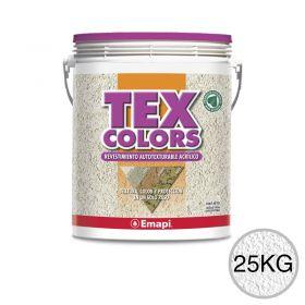 Revestimiento acrilico texturable Texcolors Paris blanco balde x 25kg
