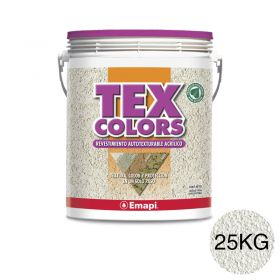 Revestimiento acrilico texturable Texcolors Paris tiza balde x 25kg