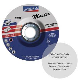 DISCO DE CORTE DW 115X1.6