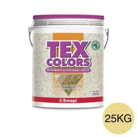 Revestimiento acrilico texturable Texcolors Athenas arena balde x 25kg