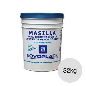 Masilla tomado juntas y terminacion placas yeso Novoplack blanco balde x 32kg
