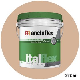 Revestimiento plastico texturado Italflex textura mediana 382ai balde x 30kg