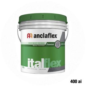 Revestimiento plastico texturado Italflex textura mediana 400ai balde x 30kg
