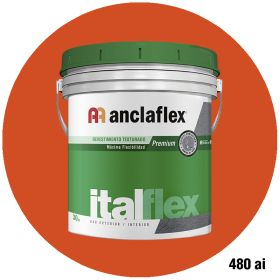 Revestimiento plastico texturado Italflex textura mediana 480ai balde x 30kg