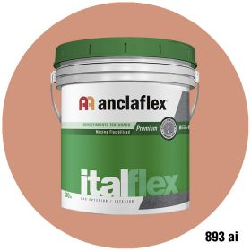 Revestimiento plastico texturado Italflex textura mediana 893ai balde x 30kg